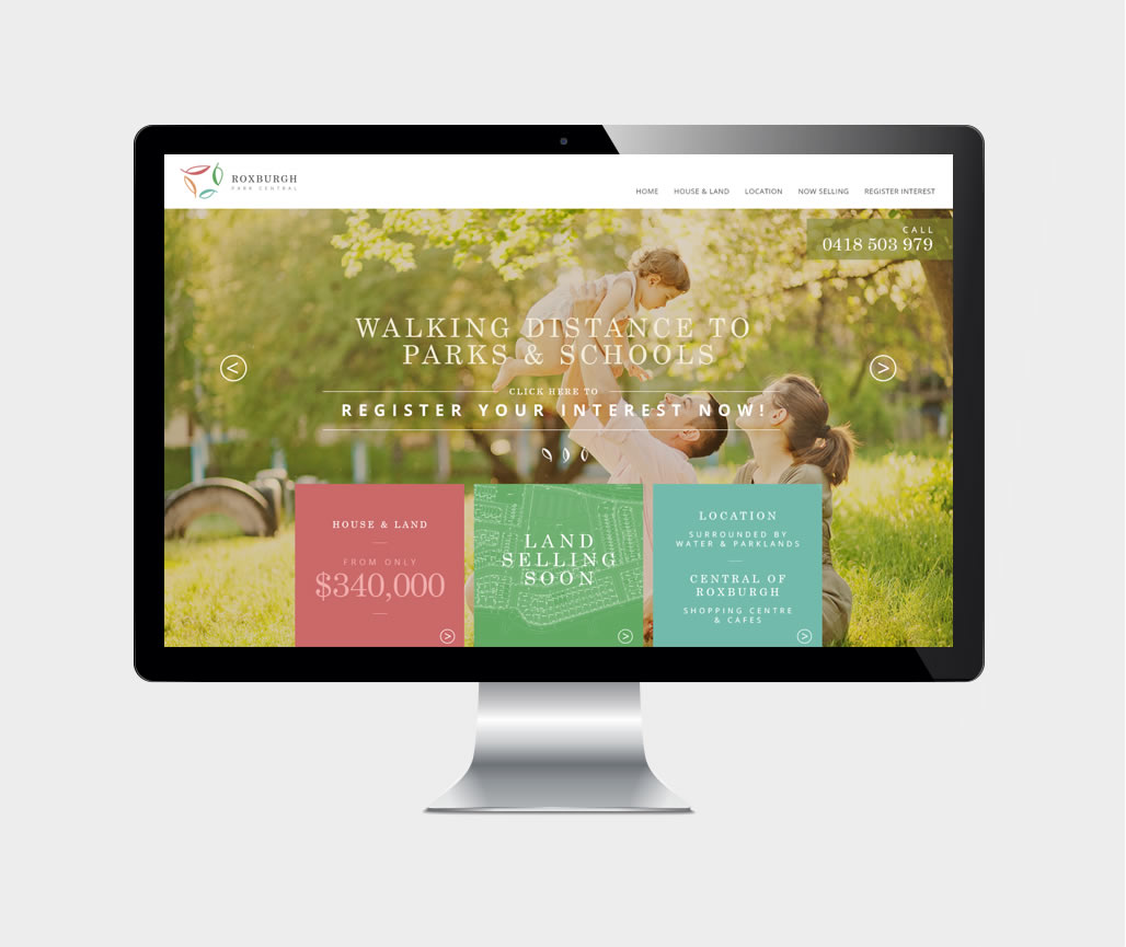 Custom UI/UX Design & website development