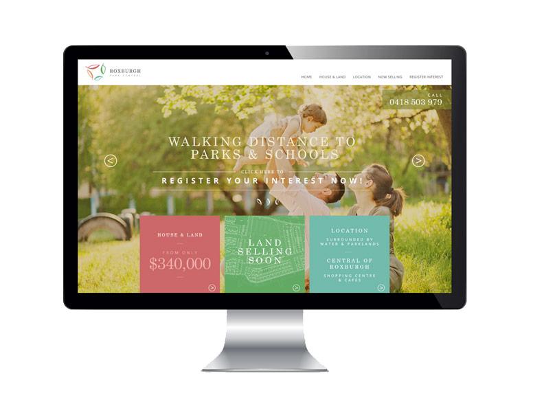 Website Design <br>and Development