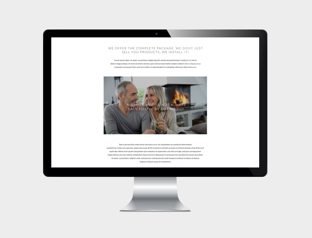 RESPONSIVE user interface / user experience design
