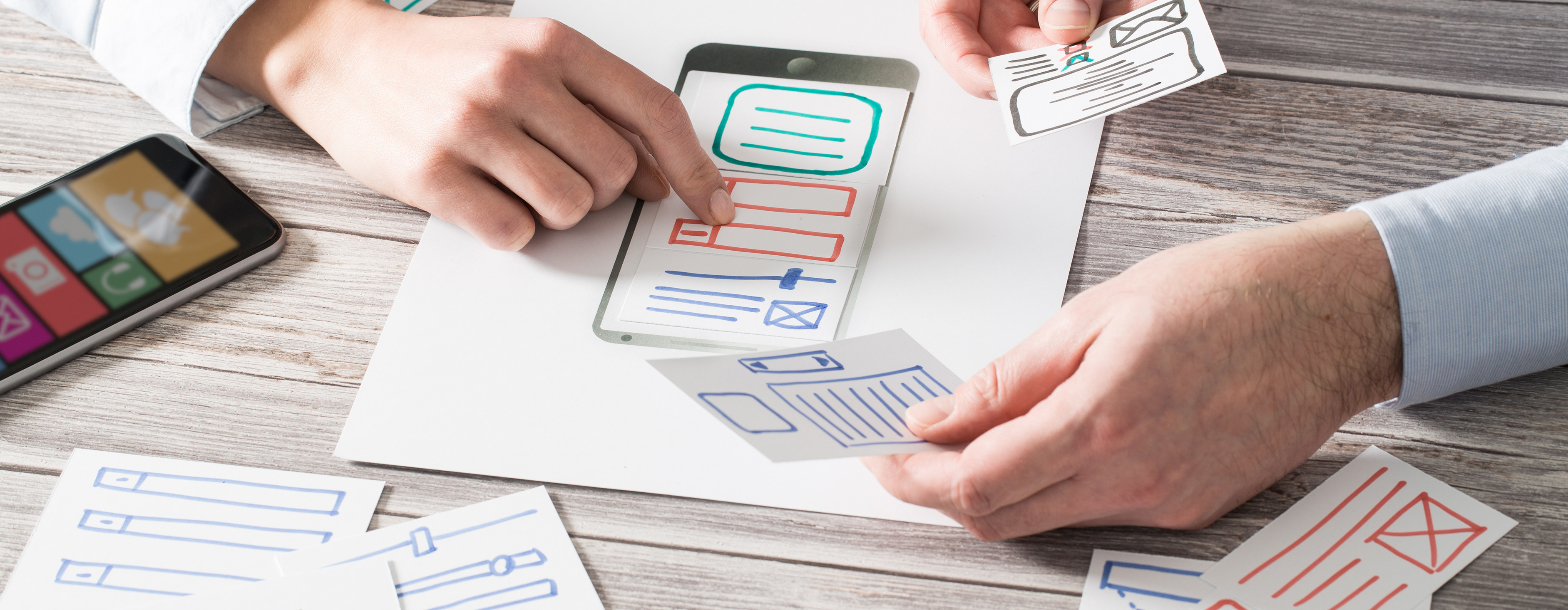 The importance of the planning and wireframe stage for any website