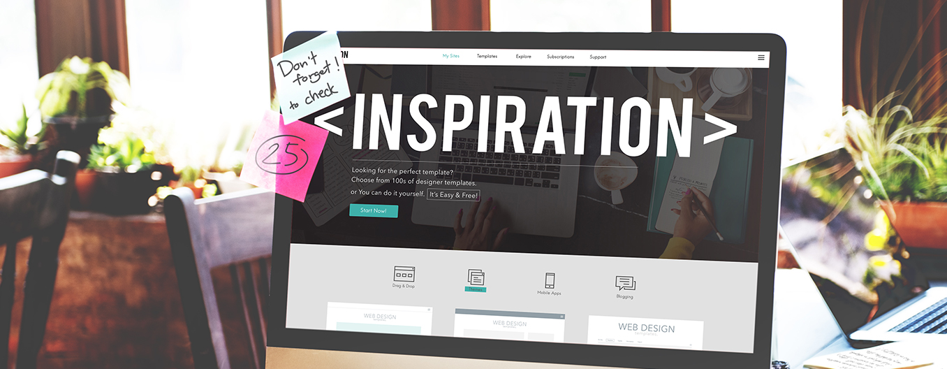 Web design inspiration in Melbourne